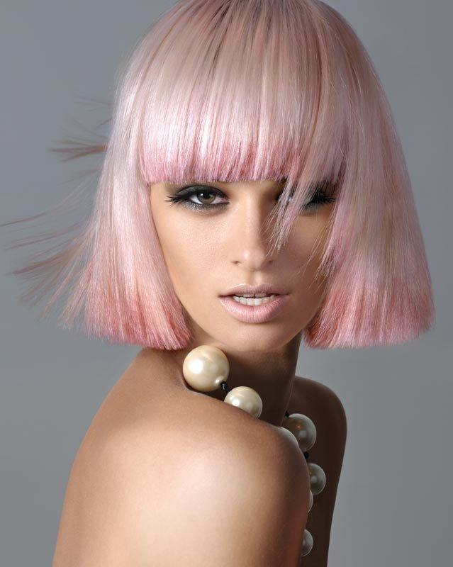růžové vlasy odstíny pastel