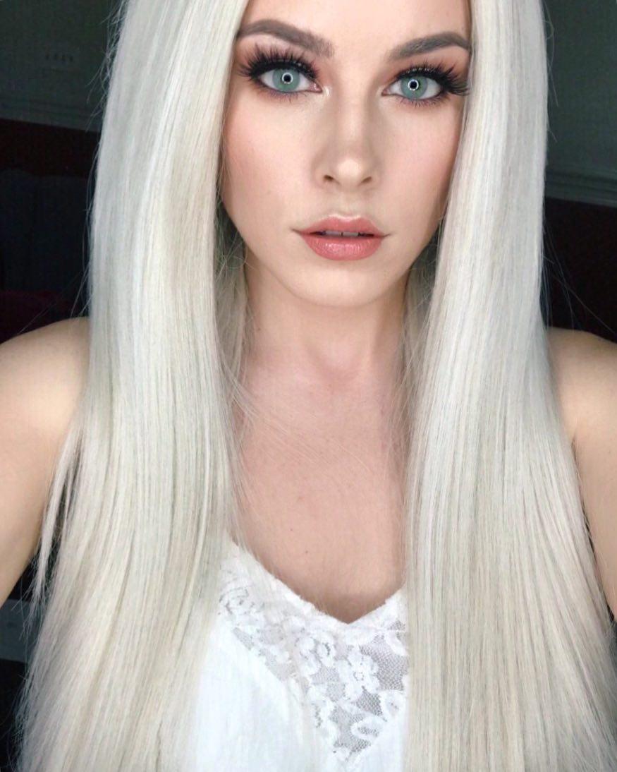 polární blond trendy barva