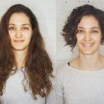 zkrácení dlouhých vlasů do mikáda