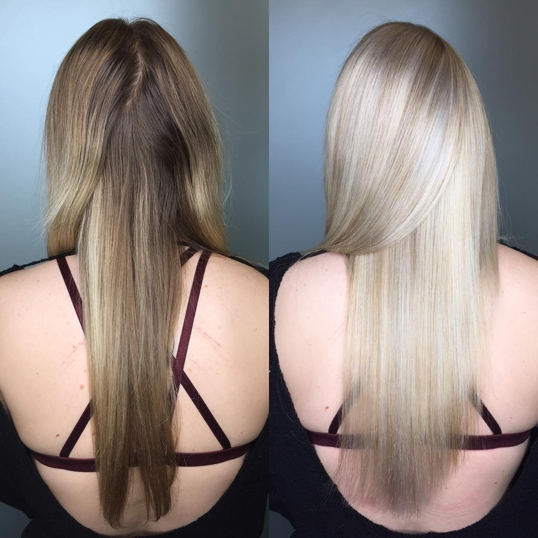 zesvětlení přistřihnutí vlasů