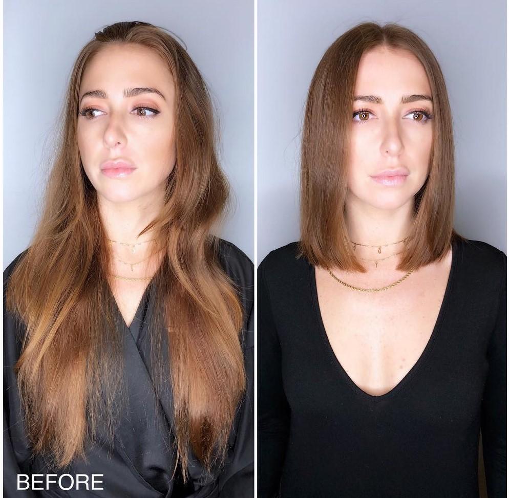 změna účesu obnova vlasů